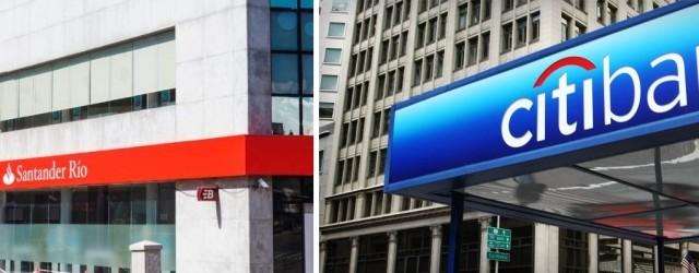 Compra de banca minorista del Citi por el Santander Rio